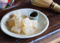 Cách làm warabi mochi – bánh quý tộc Nhật Bản