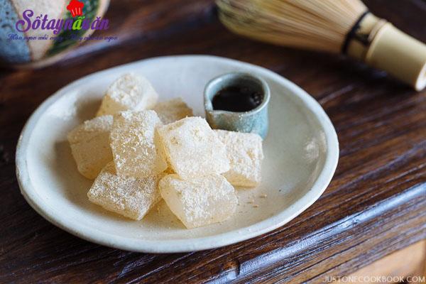 Cách làm warabi mochi - bánh quý tộc Nhật Bản 6