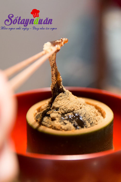 Cách làm warabi mochi - bánh quý tộc Nhật Bản 8