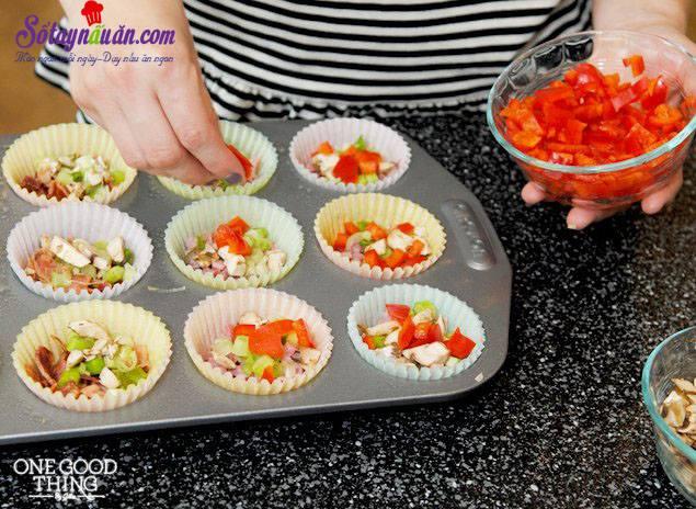 Độc đáo với trứng hấp cupcake ngon tuyệt ngon 3