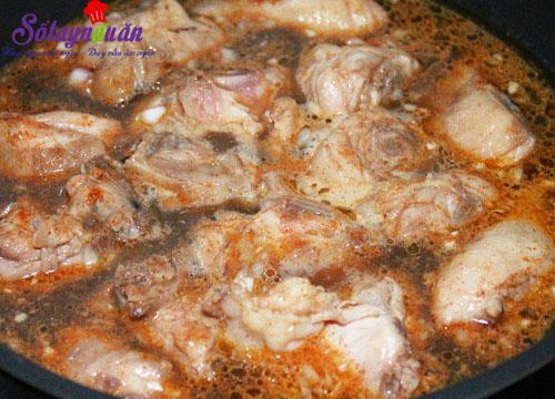 Hướng dẫn nấu xôi gà hạt sen cho bữa sáng dinh dưỡng 4