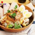 cách chọn đùi gà ngon, Hướng dẫn nấu xôi gà hạt sen cho bữa sáng dinh dưỡng 7