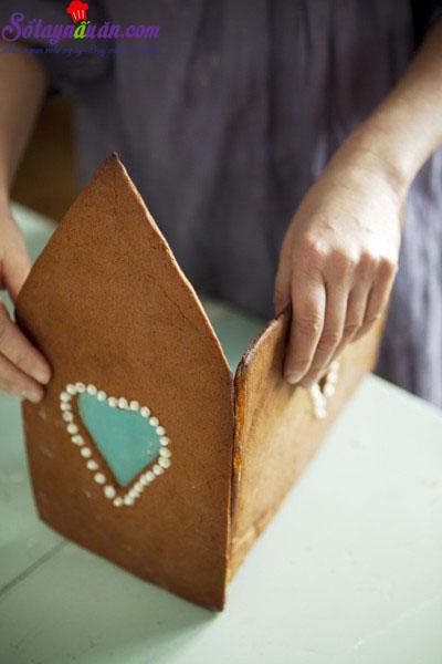 cách làm nhà bánh gừng 7
