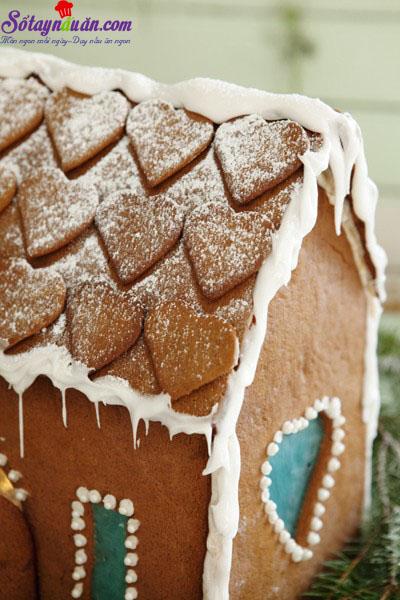 cách làm nhà bánh gừng 8