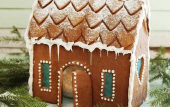 Làm bánh nướng, cách làm nhà bánh gừng 9