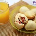 bánh phô mai xúc xích chiên, cách làm bánh quy bọc xúc xích 12