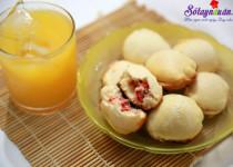Cách làm bánh quy bọc xúc xích đơn giản mà ngon