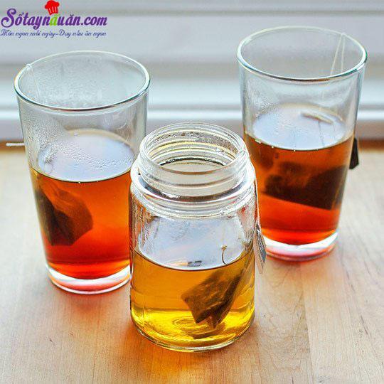 cách làm trà sữa trà xanh 3