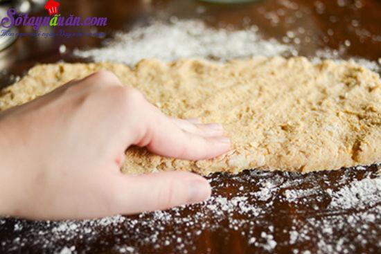 cách làm bánh scones cuộn hương quế 9