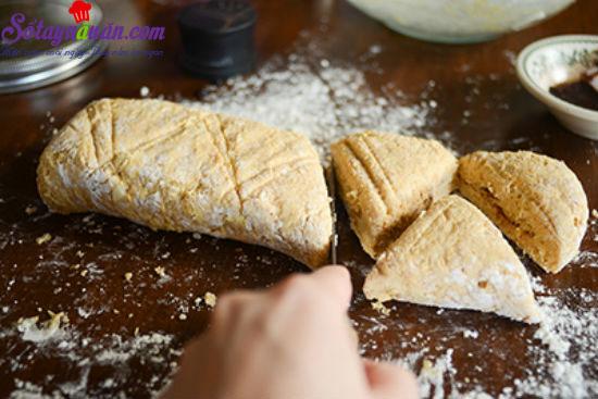 cách làm bánh scones cuộn hương quế 13