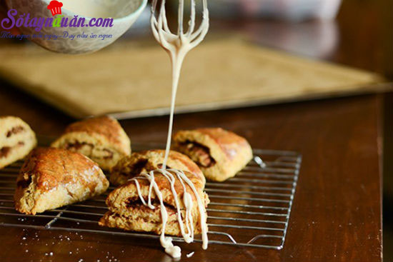cách làm bánh scones cuộn hương quế 17