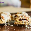 bánh quy bơ, cách làm bánh scones cuộn hương quế 18
