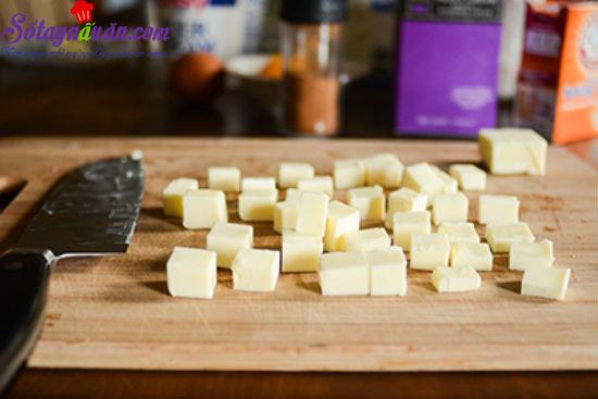 cách làm bánh scones cuộn hương quế 1