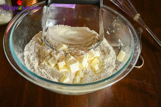cách làm bánh scones cuộn hương quế 3