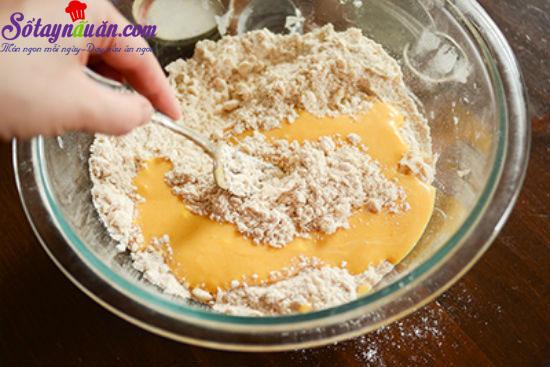 cách làm bánh scones cuộn hương quế 8