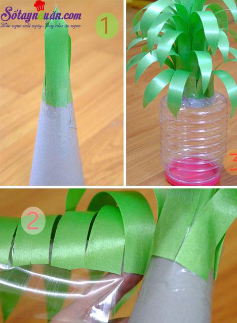 cách làm hoa sen, quả dứa bằng kẹo oishi 1