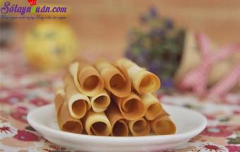 Nấu ăn món ngon mỗi ngày với Đường, cách làm bánh quế 1