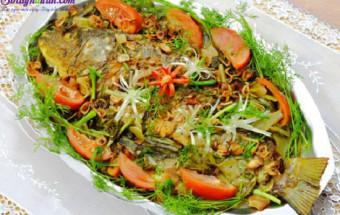 Nấu ăn món ngon mỗi ngày với Cá chép, cách làm cá chép kho dưa 8