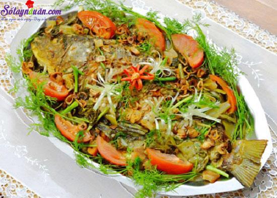 Nấu ăn, Hướng dẫn làm cá chép kho dưa đưa cơm
