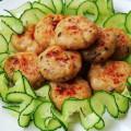 món ăn ngày tết, cách làm chả thịt gà 5