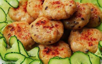 Nấu ăn món ngon mỗi ngày với Bột năng, cách làm chả thịt gà 5