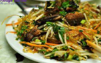 Nấu ăn món ngon mỗi ngày với Mộc nhĩ, cách làm miến lươn 1