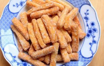 Nấu ăn món ngon mỗi ngày với Đường trắng, cách làm quẩy ngào đường 1