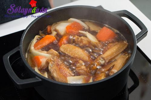 Cánh gà kho củ cải ngon mê mẩn khi ăn cùng cơm 3