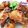 cánh gà nướng, Công thức sườn nướng vừa ngon vừa thơm nức mũi kết quả