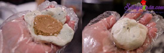 cách làm bánh hotteok 6