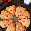 bí quyết làm kem hoa quả ngon, cách làm bánh dâu nướng 1
