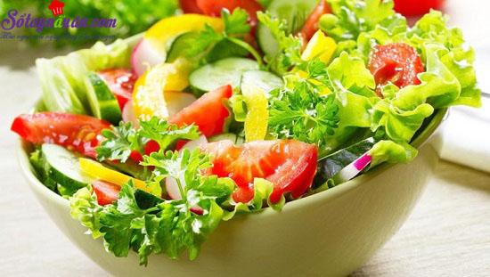 cách làm salad trộn dầu giấm 2