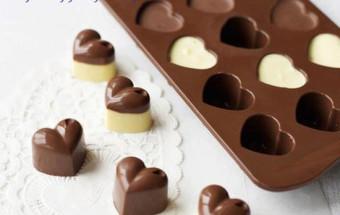 Những món ăn vặt, Cách làm socola trái tim cho valentine thêm ấm ấp 4