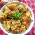 bí quyết làm thịt gà xào nấm ngon, cách làm vịt nấu giả cày 1