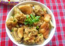 Vịt nấu giả cầy – món ăn lạ mà ngon