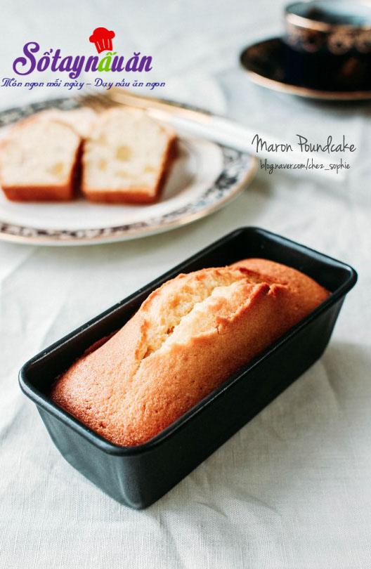 Hướng dẫn làm bánh bơ hạt dẻ cho bữa sáng dinh dưỡng kết quả