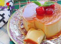 Hướng dẫn làm bánh flan pudding mát lạnh, thơm ngon