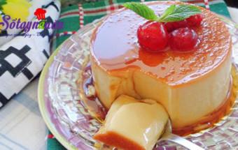 cách làm bánh, Hướng dẫn làm bánh flan pudding mát lạnh, thơm ngon kết quả