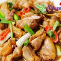 tôm nấu canh, Ngon hơn với thịt gà rim nước tương chuẩn vị
