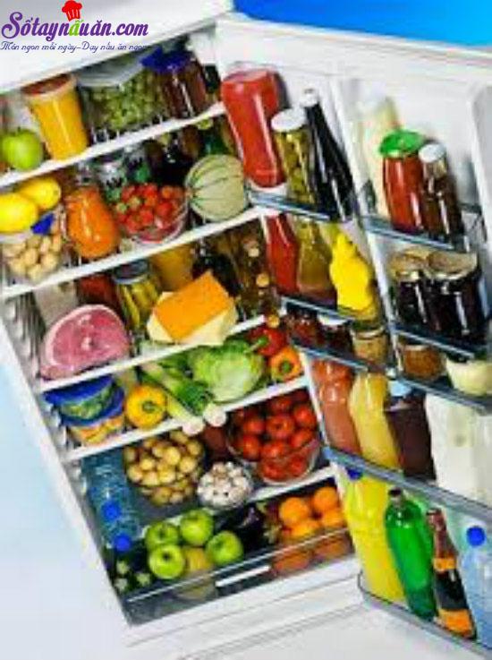 bảo quản thức ăn bằng tủ lạnh 4