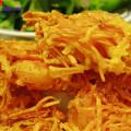 Hướng dẫn làm dạ dày chiên lá mắc mật ngon ngất ngây, cách làm bánh tôm chiên khoai lang 1