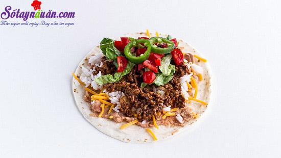 cách làm bánh taco hình nón 8