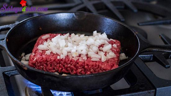 cách làm bánh taco hình nón 6