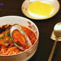 mì hải sản, cách làm mỳ hải sản cay 1