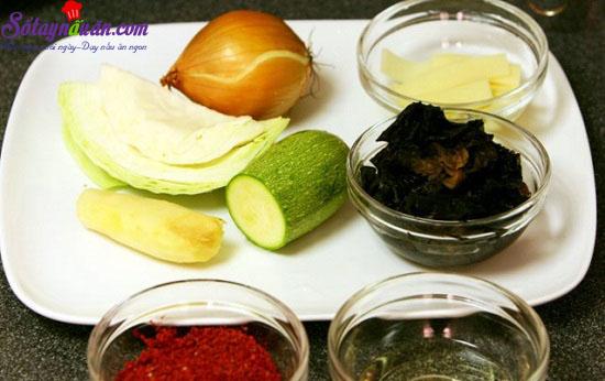 cách làm mỳ hải sản cay 3
