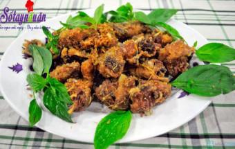 Nấu ăn món ngon mỗi ngày với Ớt sừng, cách làm vịt rang riềng 3
