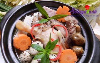 Món ăn vặt, Hấp dẫn hơn với lẩu vịt om sấu ngày mưa kết quả