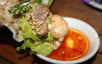 Nấu ăn món ngon mỗi ngày với Đường, cách làm gỏi bắp bò 6