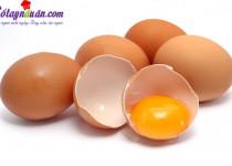 Những thực phẩm không nên với trứng
