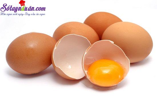 những thực phẩm không nên với trứng 1